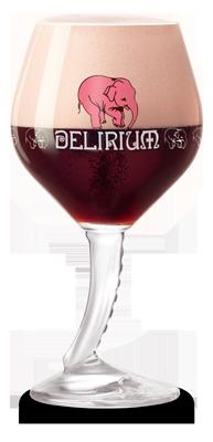 delirium red glass new