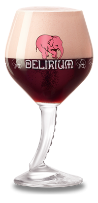 delirium red glass new